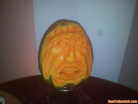 Carving face