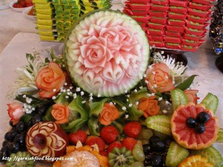 Wedding Fruit Arrangement