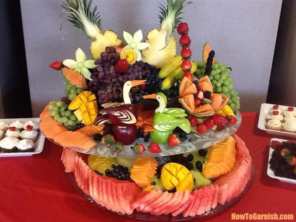 Fruits display