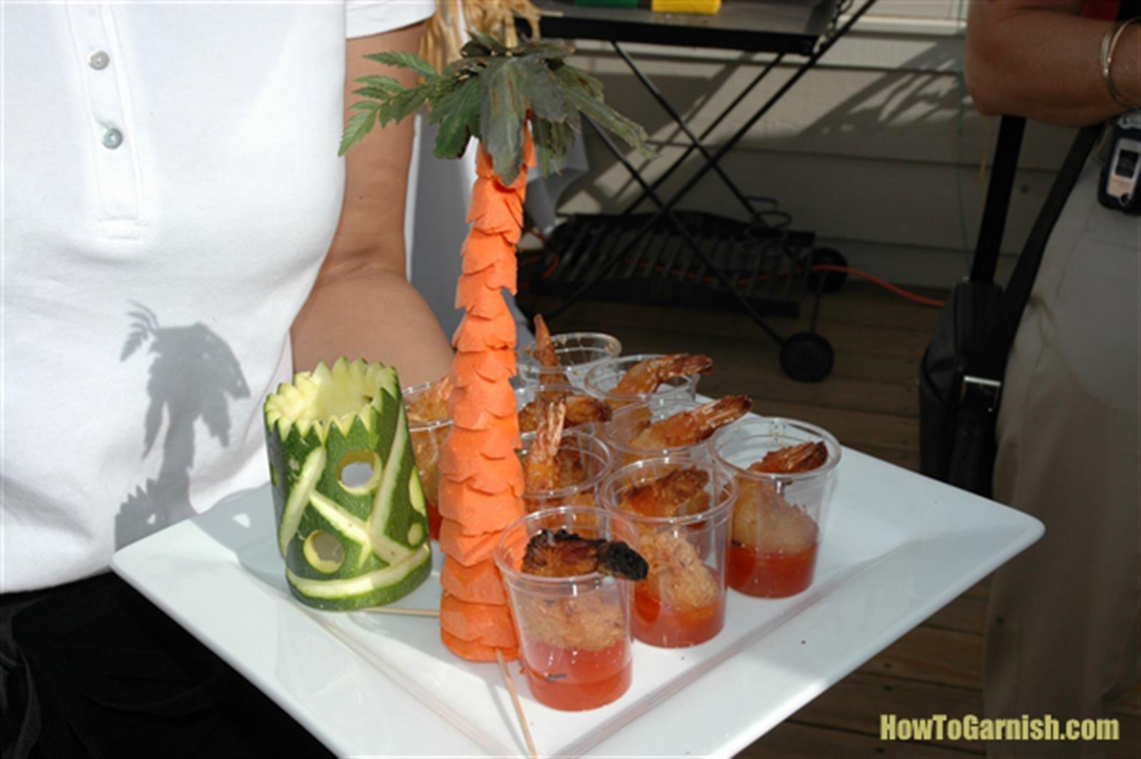 Carrot Palm Tree