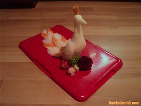 Peacock radish