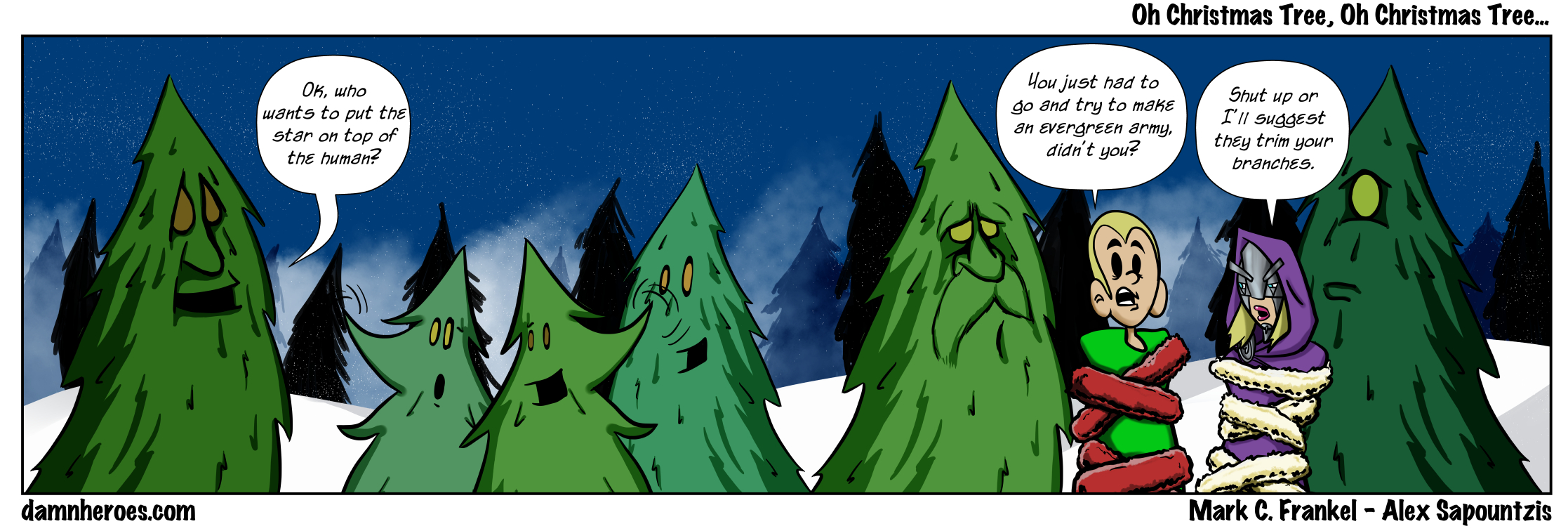 Oh Christmas Tree, Oh Christmas Tree…