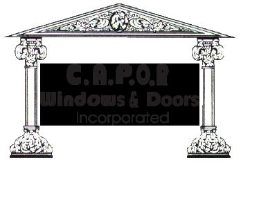 Website for C.A.P.O.R. Windows & Doors Inc.