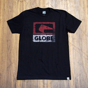 Globe Corrosive Black T-Shirt