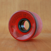 GoldCoast Cherry Bombs 60mm 78a Red Wheels