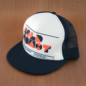 GoldCoast Black/White Trucker Hat