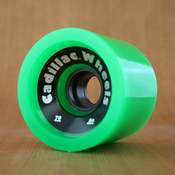 Cadillac 70mm 80a Cruzers Green Wheels