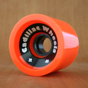 Cadillac 70mm 80a Cruzers Orange Wheels