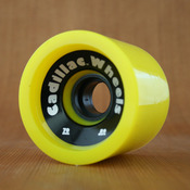 Cadillac 70mm 80a Cruzers Yellow Wheels