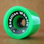 Cadillac 74mm 80a Cruzers Green Wheels