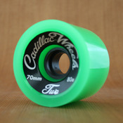 Cadillac 70mm 80a Classic 2 Green Wheels