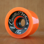 Cadillac 70mm 80a Classic 2 Orange Wheels