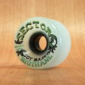 Sector 9 65mm 78a Biothane Soy White Wheels