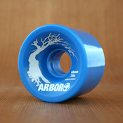 Arbor 63mm 78a Blue Street Wheels