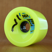 Never Summer 75mm 78a Hustle Yellow Wheels