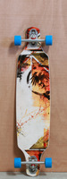 "Never Summer 41"" Descent DT Longboard Complete"