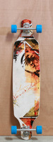 "Never Summer 41"" Descent TM Longboard Complete"