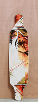 "Never Summer 41"" Descent TM Longboard Deck"