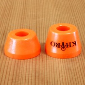 Khiro Tall Cone 79a Orange Bushings