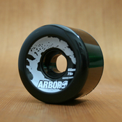 Arbor 65mm 78a Black Street Wheels