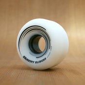 Gravity Slider 60mm 99a White Wheels
