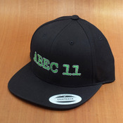 Abec11 Buddy Logo Snap Back Black Hat