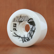 Arbor 70mm 78a White Street Wheels