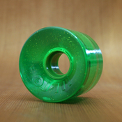OJ 60mm 78a Hot Juice Green Glitter Wheels