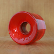 OJ 60mm 78a Hot Juice Trans Red Wheels