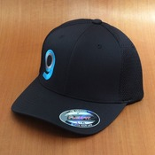 Orangatang G Logo Flex Fit Black Hat