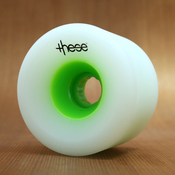 These 75mm 80a Green Hub Wheels