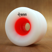 These 75mm 80a Red Hub Wheels