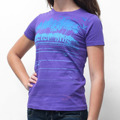 Sector 9 Line Up Purple T-Shirt