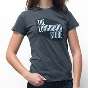 TLS Shop T-Shirt Women's Charcoal Heather
