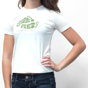 Gravity Green Feet T-Shirt