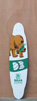 "DB 37.5"" Green Bear Longboard Deck"