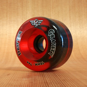 Gravity Drifter 70mm 74a Translucent Red Wheels