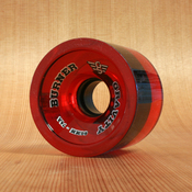 Gravity Burner 66mm 74a Translucent Red Wheels