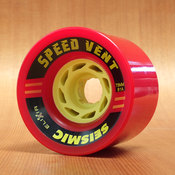 Seismic Speed Vent 73mm 81a Red Wheels