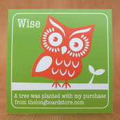 TLS Wise Owl Project Sticker