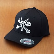 Bones Vato Rat Flex Fit Black Hat