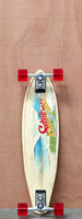 Sector 9 31.75&quot; Puerto Rico Bamboo Longboard Complete