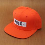 Poler Furry Font Snapback Orange