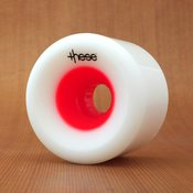 These 70mm 78a FRF 727 Red Hub Wheels