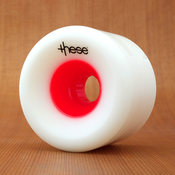 These 75mm 78a FRF 727 Red Hub Wheels