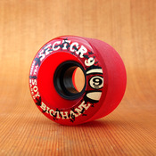 Sector 9 61mm 78a Biothane Soy Red Wheels