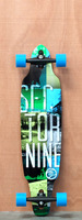 Sector 9 38&quot; Drifter II Blue Longboard Complete