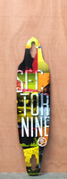 "Sector 9 38"" Drifter II Yellow Longboard Deck"