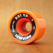 Seismic Hot Spot 66mm 79a Orange Wheels