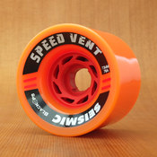 Seismic Speed Vent 73mm 76a Orange Wheels